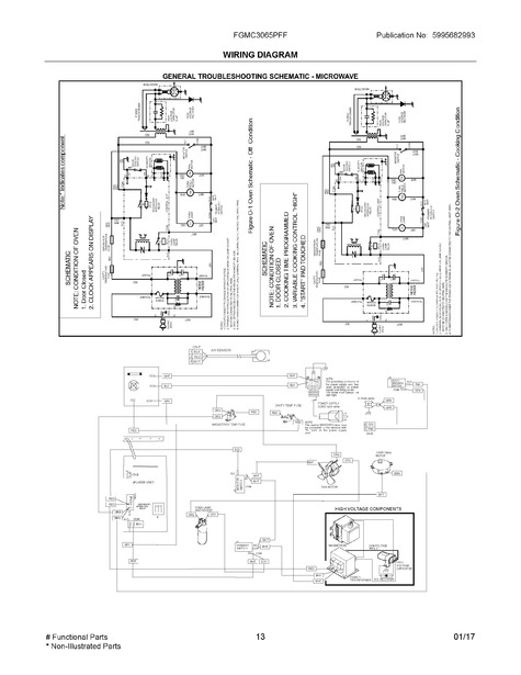 frigidaire fgmc3065pff parts list  trible's