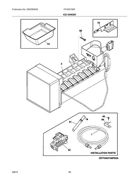 Frigidaire Ffhn2740psca Parts List Trible S