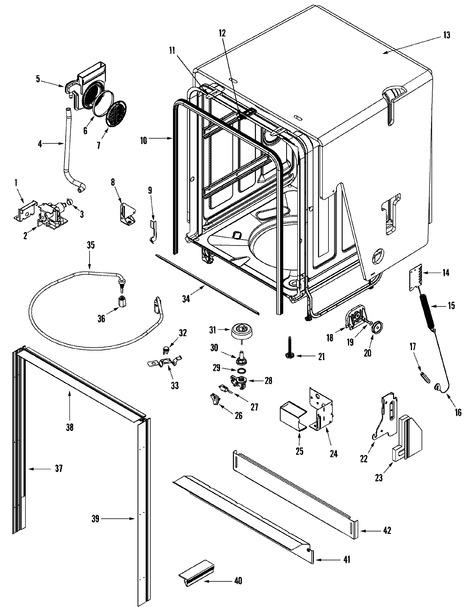 Maytag Jdb1100aws Parts List