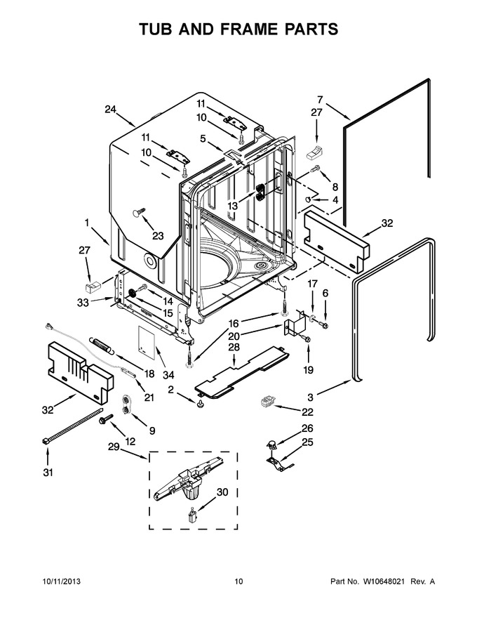 kuds30fxpaa trible s appliance model lookup Structural Framing Diagram diagram for kuds30fxpaa