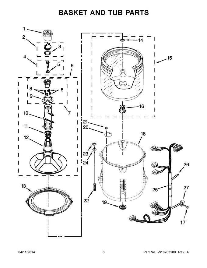 Diagram Parts List For Model Du920pfgt4 Whirlpoolparts Dishwasher