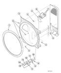 Diagram for Rear Bulkhead, Felt Seal, Cylinder Roller And Terminal Block