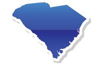 Map of Souh Carolina